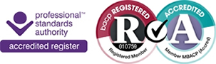 BACP Accredited and Registered